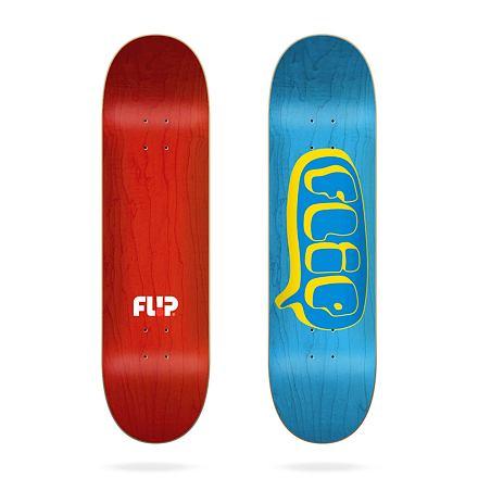 Skate deska FLIP Team Bubble Blue 8.45
