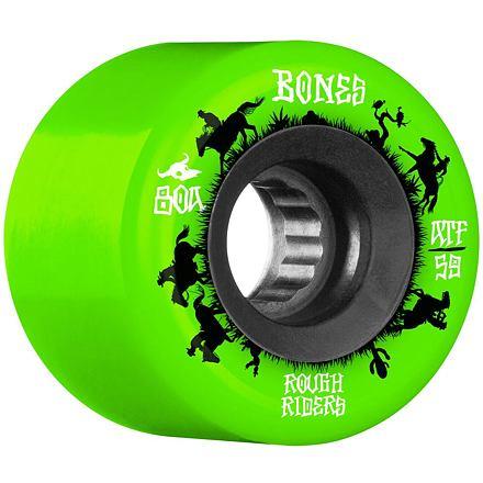Kolečka BONES ATF Rough Riders Wranglers 59mm green