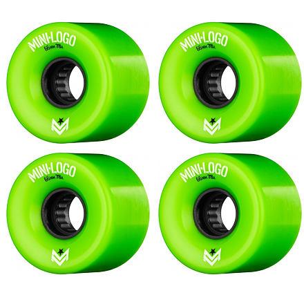 Longboard kolečka MINI LOGO A.W.O.L. 66mm green