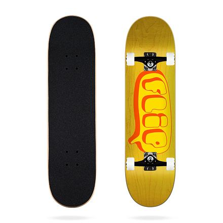 Skateboard FLIP Team Bubble Yellow 8.25