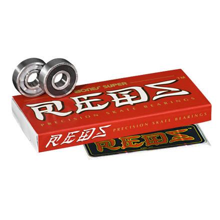 BONES Super Reds longboard ložiska, set 8ks