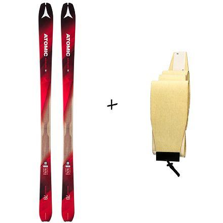 Skialpové lyže Atomic Backland 78 18/19 + stoupací pásy Hybrid Délka lyží: 169