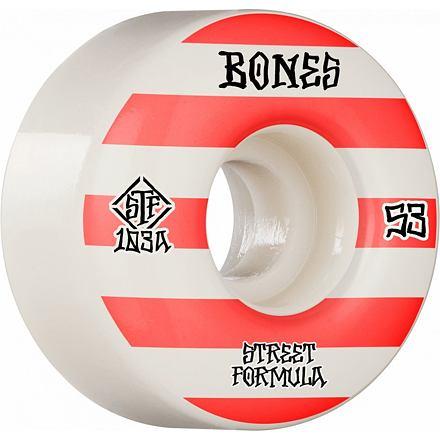 Skate kolečka BONES STF Patterns V4 WIDE 53mm
