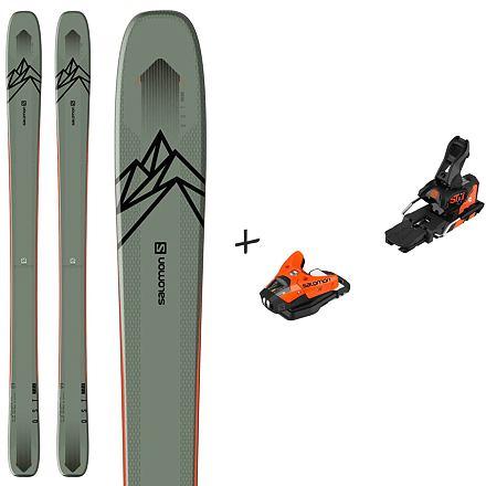 Set lyží SALOMON QST 106 19/20 + vázání STH2 13 WTR Délka lyží (v cm): 174