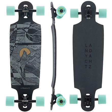 Longboard LANDYACHTZ Drop Cat 33 Seeker black