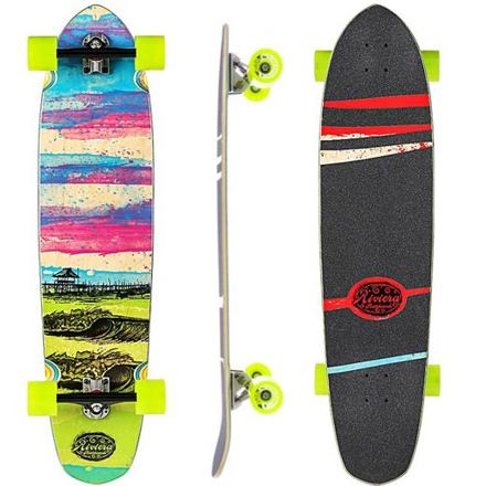 Longboard komplet RIVIERA Glass Off 40""