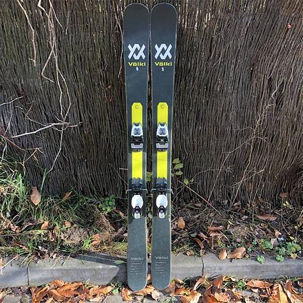 BAZAR Junior freeride lyže VOLKL Confession Jr. + Marker Free Ten Délka lyží (v cm): 153