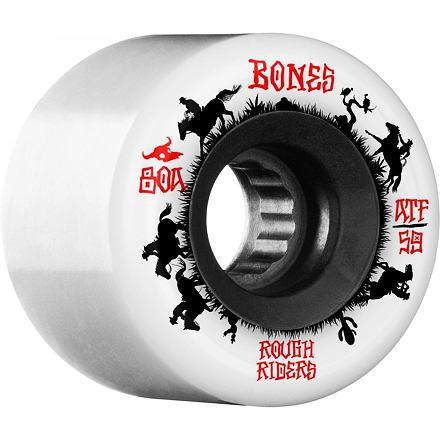 Kolečka BONES ATF Rough Riders Wranglers 56mm white, 80a