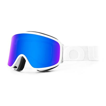 Lyžařské brýle OUT OF Flat White Blue