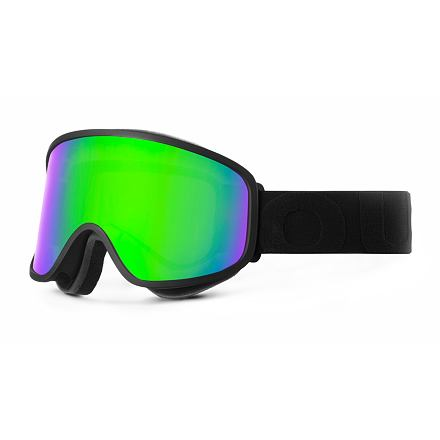 Lyžařské brýle OUT OF Flat Black Green