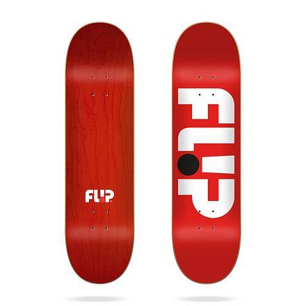 Skate deska FLIP Odyssey Logo Red 8.25″