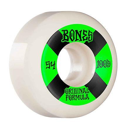 Skate kolečka BONES 100´s 54mm OG V5 white