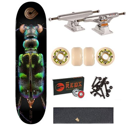 Skateboard POWELL PERALTA Levon Biss Tiger Beetle • 8.25
