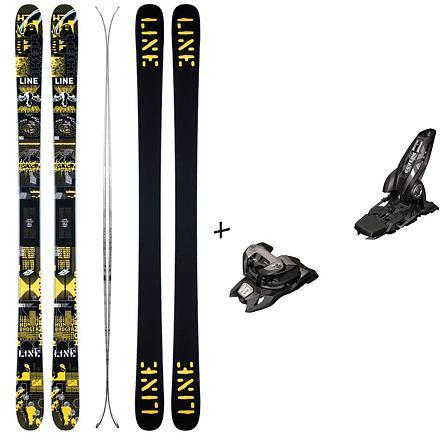 Set LINE Honey Badger + MARKER Griffon 13 Délka lyží (v cm): 177