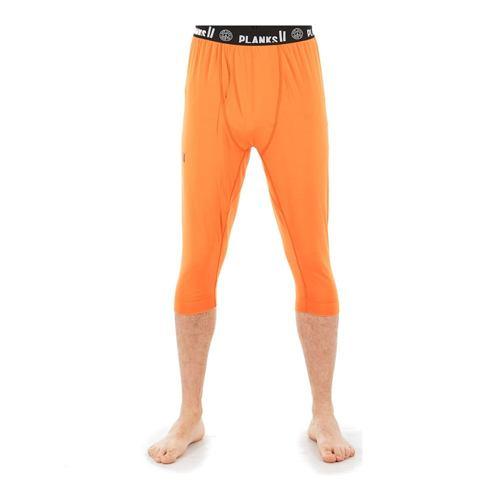 Termo spodky PLANKS Fall-Line Base Layer 3/4 Pants orange