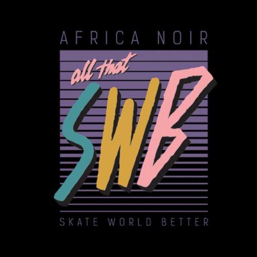 mikina skate world better černá