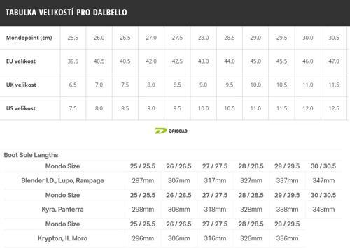 Lyžáky DALBELLO Il Moro MX 90 19/20