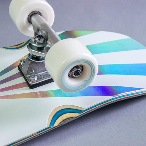 "skate cruiser DUSTERS Cazh Cosmic 29.5"" holographic kicktail"