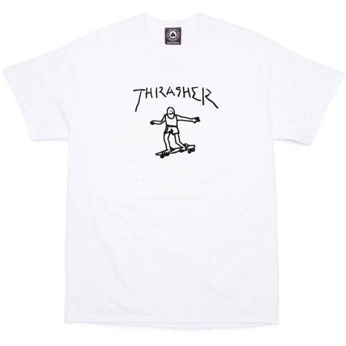 Tričko THRASHER Gonz White