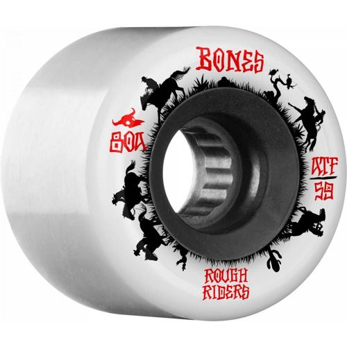 Kolečka BONES ATF Rough Riders Wranglers 59mm white