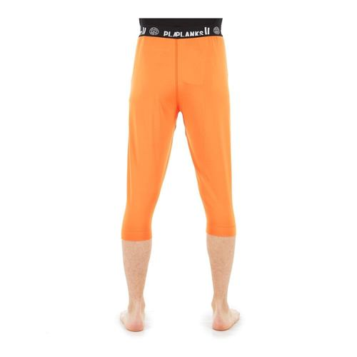 Termo spodky PLANKS Fall-Line Base Layer 3/4 Pants orange