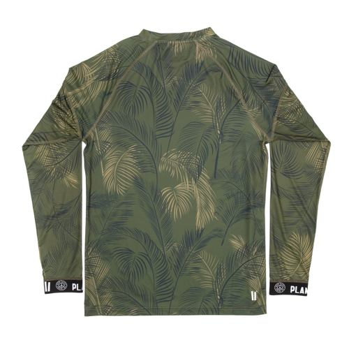 Termo tričko PLANKS Fall-Line Base Layer top jungle palm