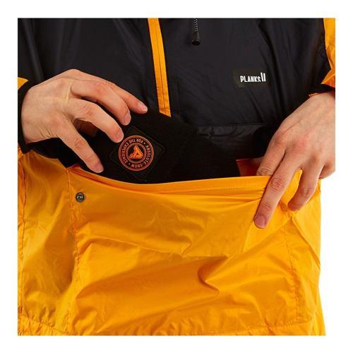 větrovka Bunda PLANKS Radorak Packable Anorak sunset yellow