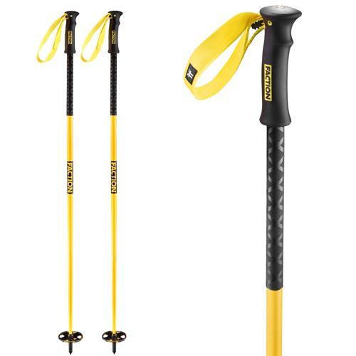 Lyžařské hůlky FACTION yellow 20/21