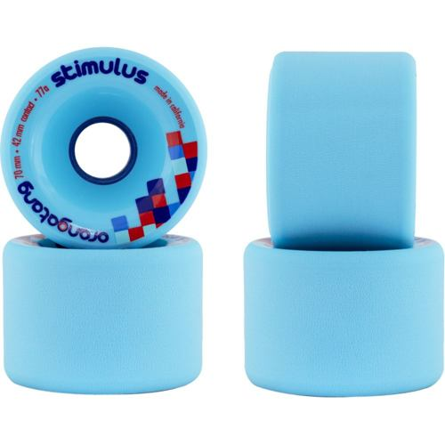 Longboard kolečka ORANGATANG Stimulus 70mm 77a modrá