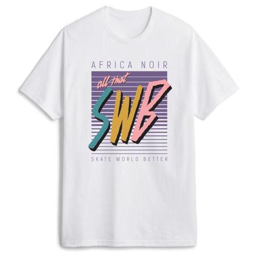 SWB Tričko Noir bílé
