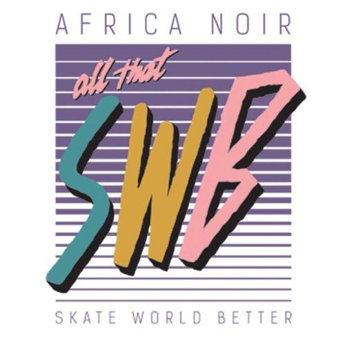 tričko skate world better bílé