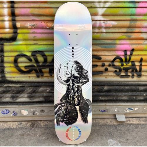 Skateboard deska MADNESS Clay Inside Out Impact Light 8.25 holographic