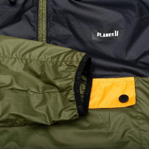 větrovka bunda PLANKS Radorak Packable Anorak green