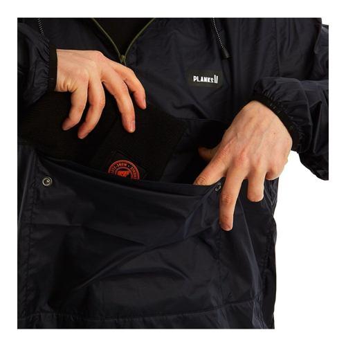 Bunda PLANKS Radorak Packable Anorak black 19/20